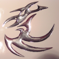 "Sticker 3 D ""Dragon"" 2"